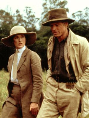 "Meryl Streep (Karen Blixen) - Robert Redford (Denys)    ""Out of Afica"""