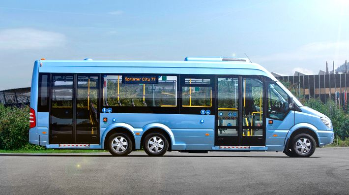 mini bus mercedes benz sprinter city 77 buses europe pinterest mercedes benz mini bus. Black Bedroom Furniture Sets. Home Design Ideas