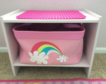 Lego* Duplo Compatible Table With Storage Basket