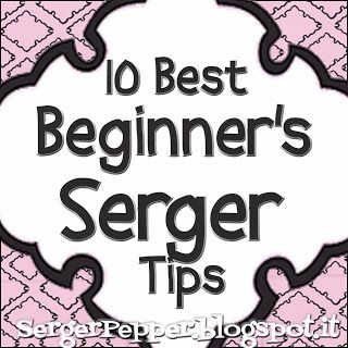 Are you scared from your serger? Using your overlocker is a nightmare? Would you like to learn using it and loose your fears? Read my best beginner's tips!