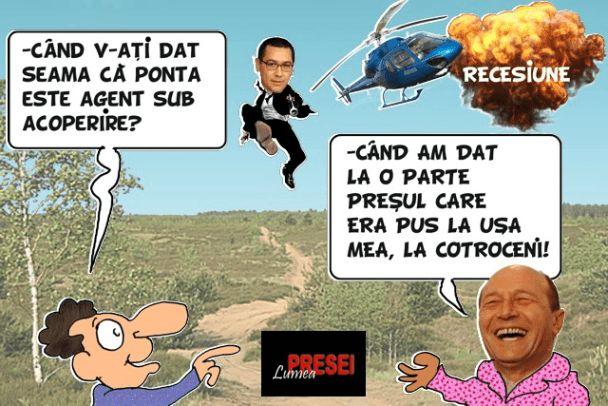 Cand v-ati dat seama ca Ponta este agent sub acoperire?
