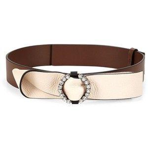 Marni Embellished Bow Leather Belt