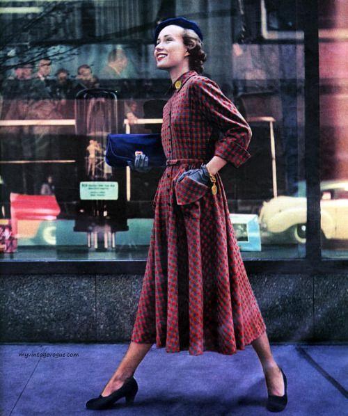 Seventeen Magazine August 1948