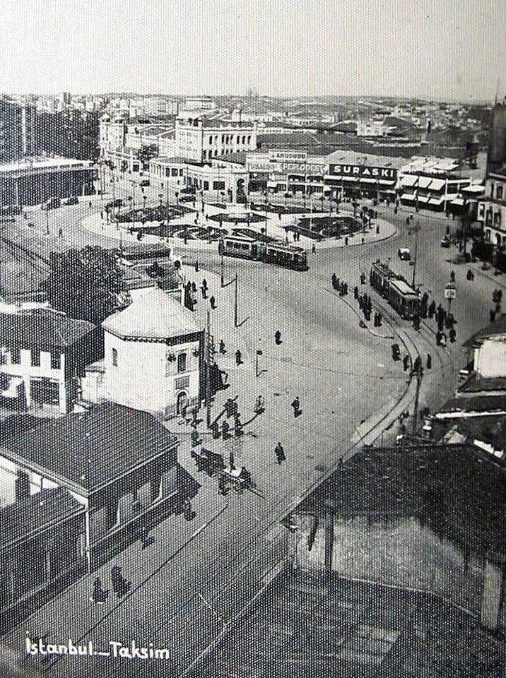 1930 Taksim Meydanı