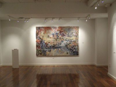 40 000 pieces of junkmail made into #art