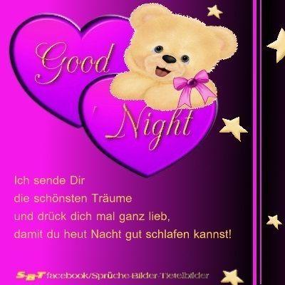 Grüße Zur Guten Nacht