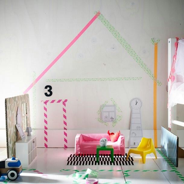 Lovely! ♡ Poppenhuis meubeltjes van Ikea