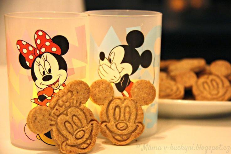 Mickeyho skořicové sušenky (od 1 roku) | Máma v kuchyni