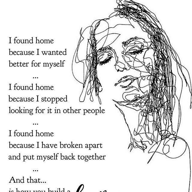 ——  .  I  a m  h o m e. (Literally)  -cwpoet .  Amazing art by @flowsofly   #poetrycommunity #poetsofinstagram #drawing   #wordsmith #spilledink #poet #poems #poem #writing #poetry #word #words #death #writingcommunity  #poems #poetryislife #face #selflov