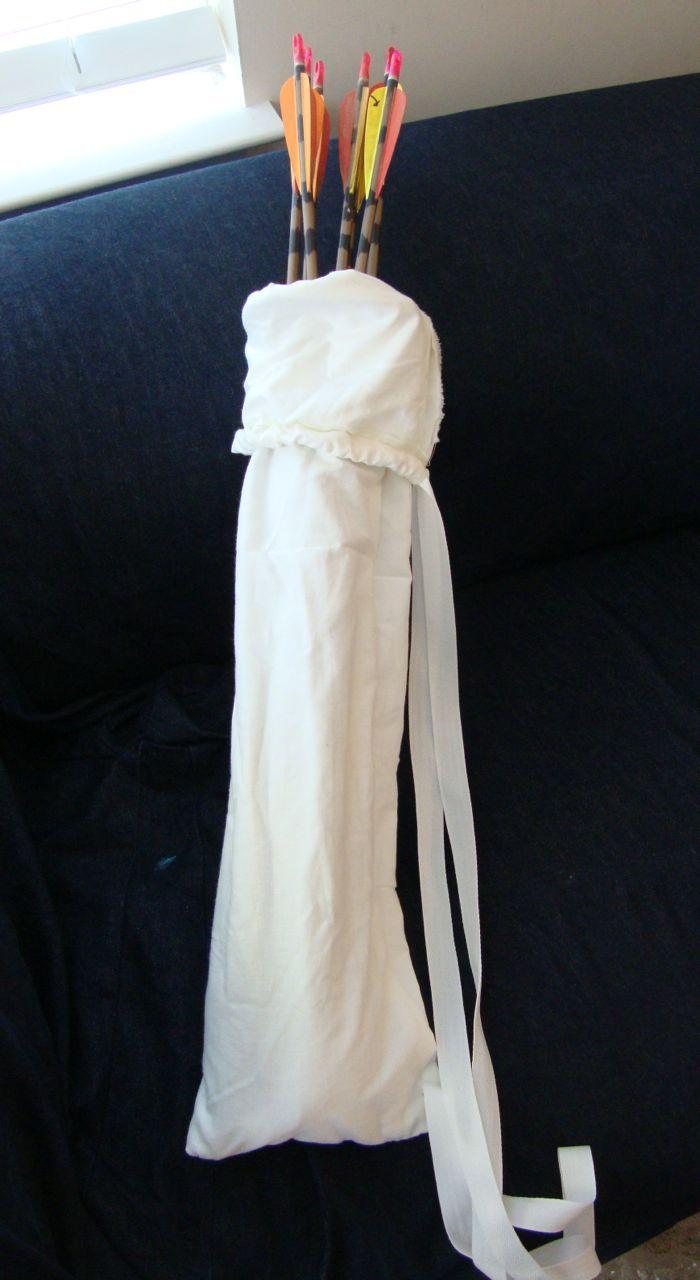 DIY Arrow Bag (quiver bag)