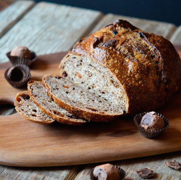 Chocolate Cherry Bread | $15.98. Includes 2 loaves. An artisan loaf studded with tart cherries, swirled white chocolate chunks and melted dark chocolate. Available at: manykitchens.com
