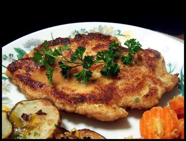 Chicken Schnitzel Recipe. #chickenrecipes #germanrecipes
