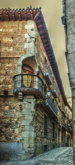 Calle de la Sillería, Toledo, España.