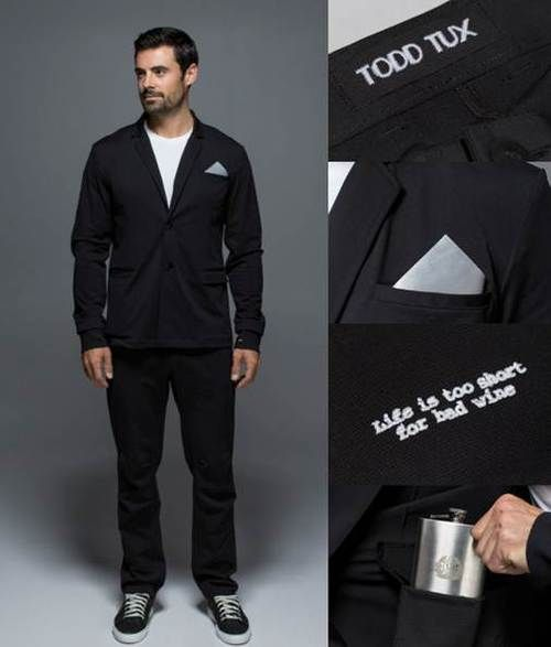 Lululemon Made Some Guy Named Todd a Wedding Tux
