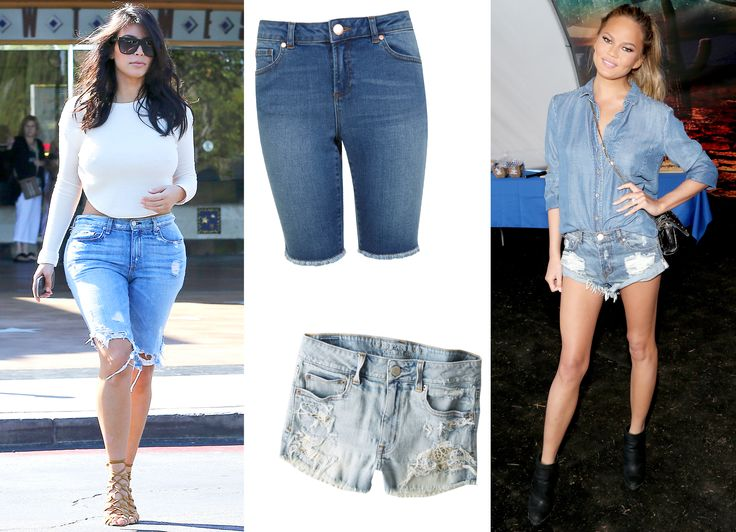From Daring to Demure, We Shopped Out Every Denim Shorts Style for Summer from #InStyle