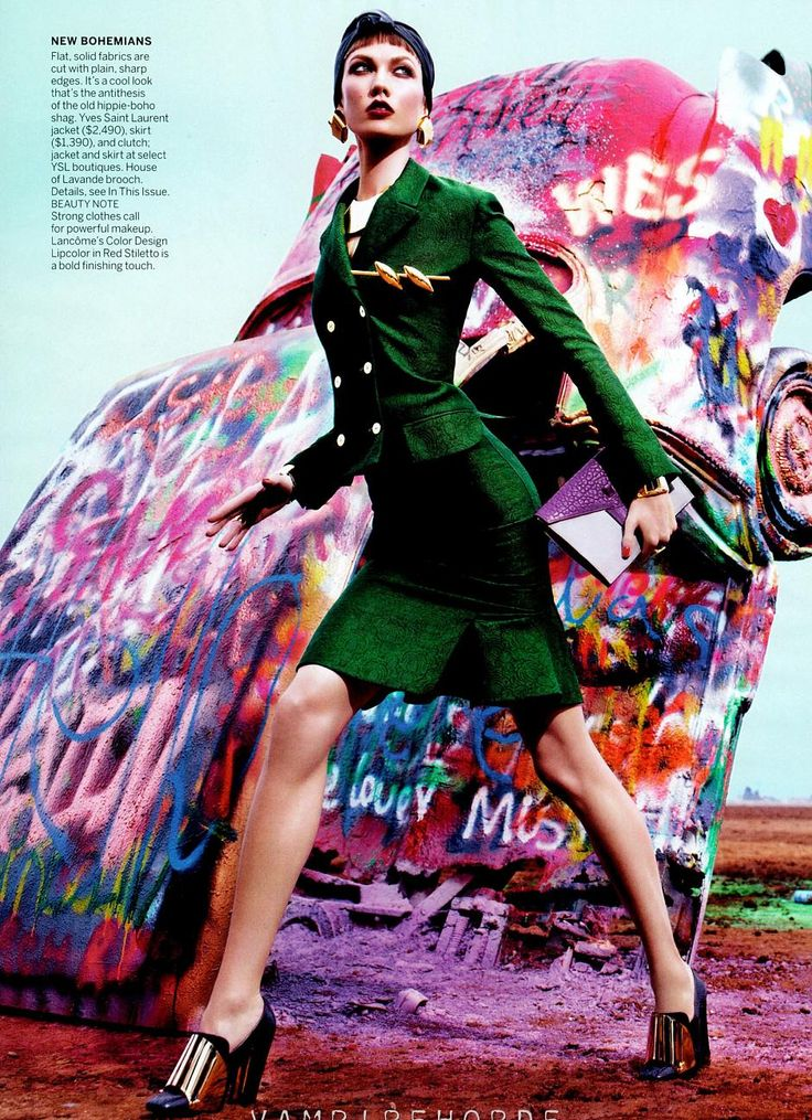 Can't. Get. Enough. Camilla Nickerson styles this entire shoot immaculately. US Vogue, March 2012