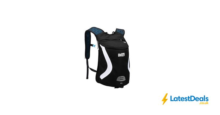 OUTRY Lightweight Backpack, 15L Daypack Black, White. Blue, £9 at Amazon UK