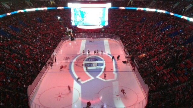 Centre bell montreal Canadiens