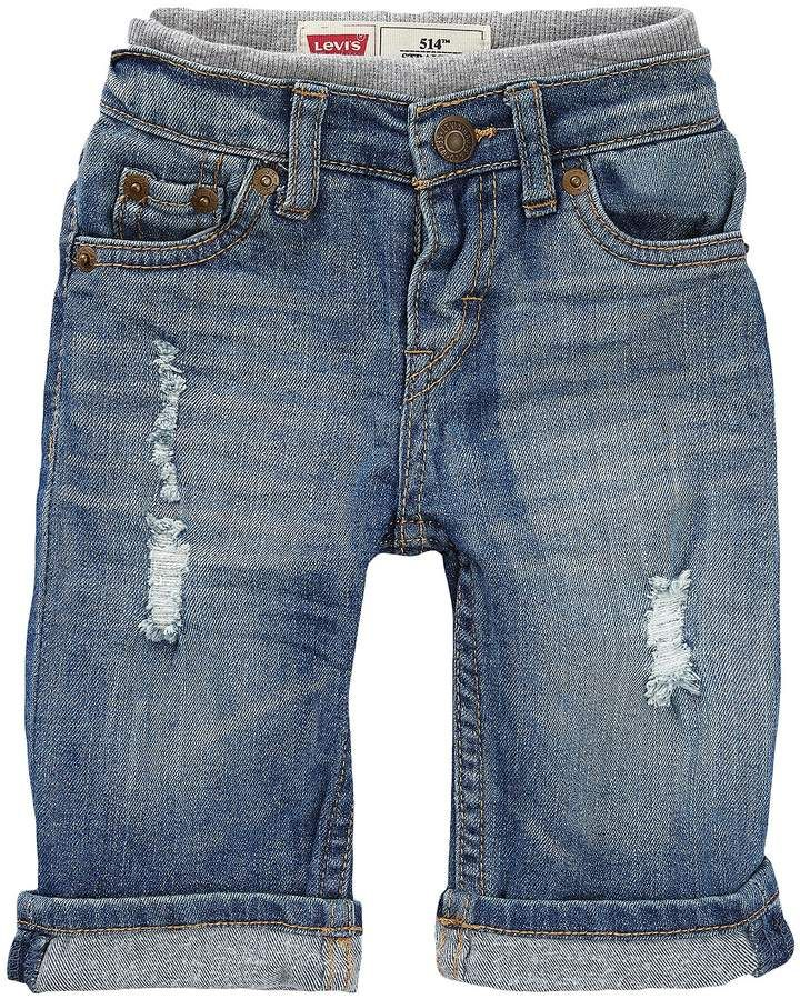 628bd4281d0 Levi s Baby Boys 3-24 Months Murphy Pull-On Denim Pants