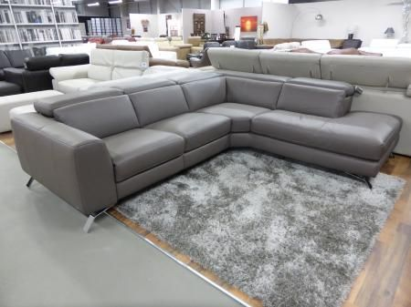 Flexsteel Sofa Buy Natuzzi Editions Artisan Electric Reclining Chaise Corner Sofa Taupe from the Natuzzi Editions Luca range at Furnimax the exception brands outlet