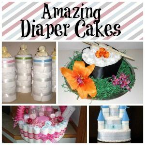 5 Amazing Baby Shower Diaper Cakes