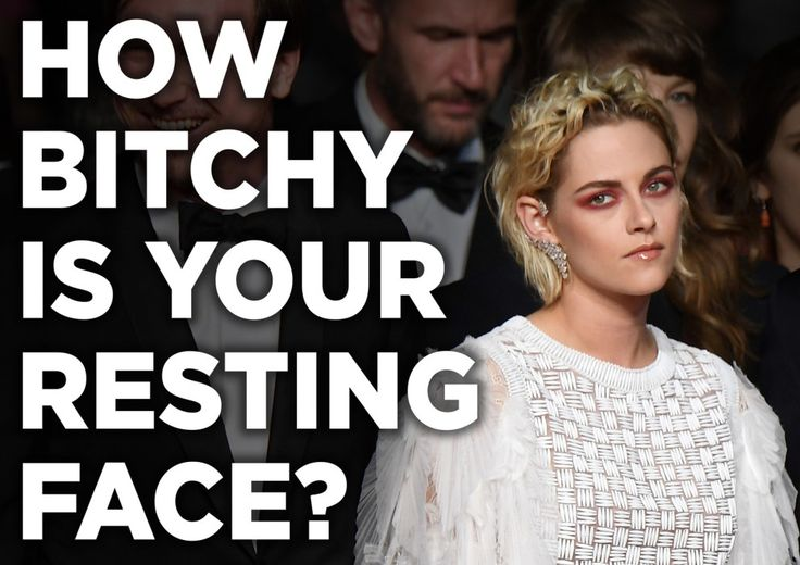 How bitchy is your resting face?You Got: Your resting face is 41% bitchy!You don't have a clear case of Resting Bitch Face or Resting Friendly Face! You have this magical skill of changing your facial expression to being as approachable or unapproachable as you want! That's an incredible skill. Good job.