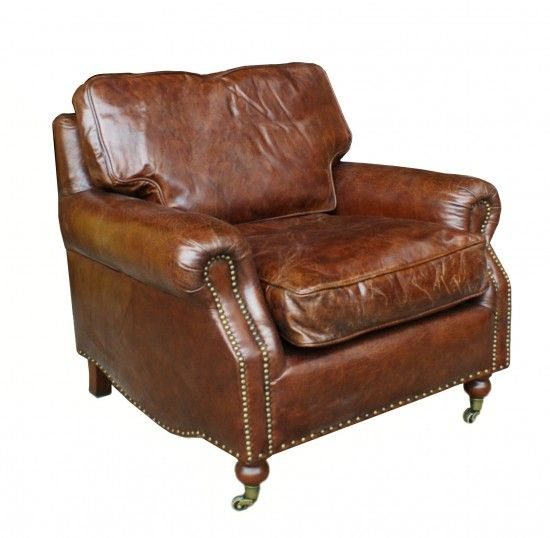 Ah! India Jane Leather Armchair - If only!