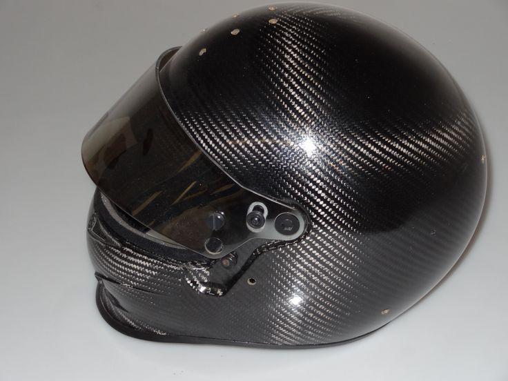 #BELLhelmet.  The carbon fiber helmets meet the #FIA8860 Advanced Helmet Standard.