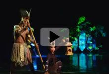 """""""Devdan – Treasure of the Archipelago"""" is a modern & contemporary acrobatic and dance performance that is inspired by the culture of Indonesia."""