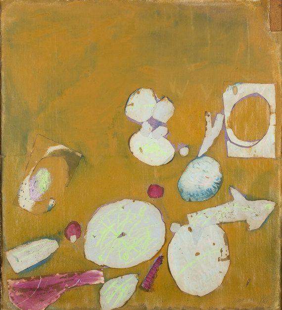 "Wieland, ""Summer Blues—Ball,"" 1961, Agnes Etherington Art Centre. #ArtCanInstitute"