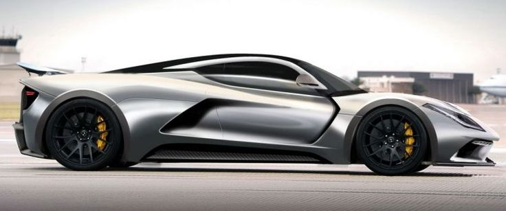 New Hennessey Venom F5 Boasts 1,600 Horses and 483 KM/H Max Speed