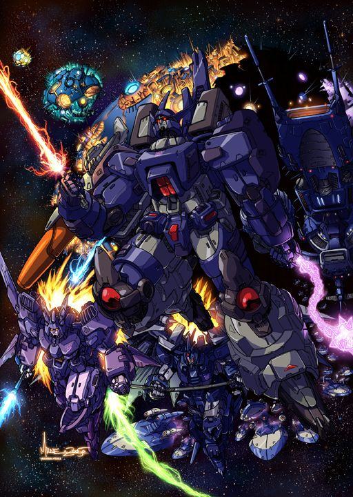 well here is the colored image for my badass galvatron deviation. this was done by who i think is pretty fuckin good at what he do. i really like the way it turned out, and i hope everyone likes it...