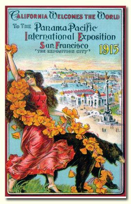 Photo of 1915 San Francisco World's Fair Poster