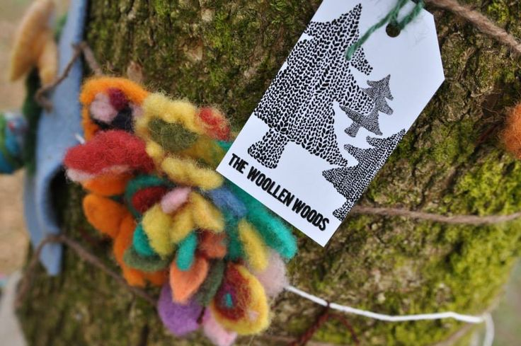 The Woollen Woods set to go nation-wide as part of Voluntary Arts Week 2015