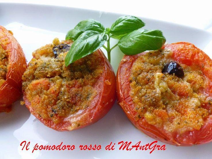 Il Pomodoro Rosso di MAntGra: Pomodori ripieni al pesto