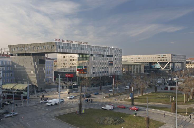 Westbahnhof Wien, 10 Gehminuten vom Hotel