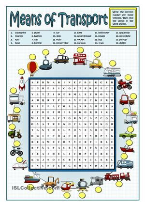This vocabulary has two activities. The teacher can choose how to begin: either finding the words in the word search and then match the pictures to the words or, once the students know how to match pictures and nouns, they find the words in the words search as a reinforsment.Key included. - ESL worksheets