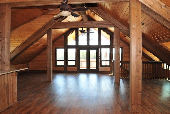 Small Barn Loft Apartments | Found on barnpros.com