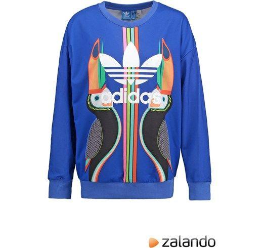 adidas Originals Felpa lab blue zalando blu Sportivo