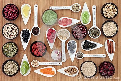 Diet and Weight Loss Food Stock Photo