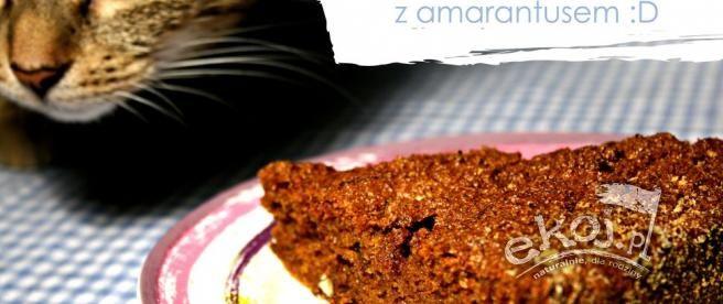 Amarantusowe ciasto marchewkowe