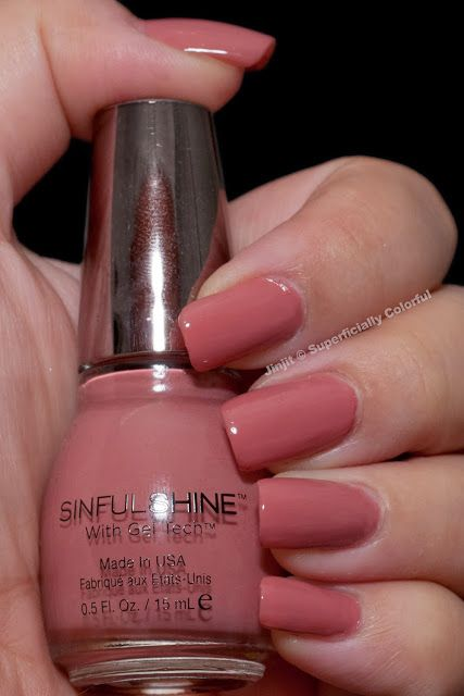 Sinful Shine - Tan Lines (LOVE this color!) #shinenewyear