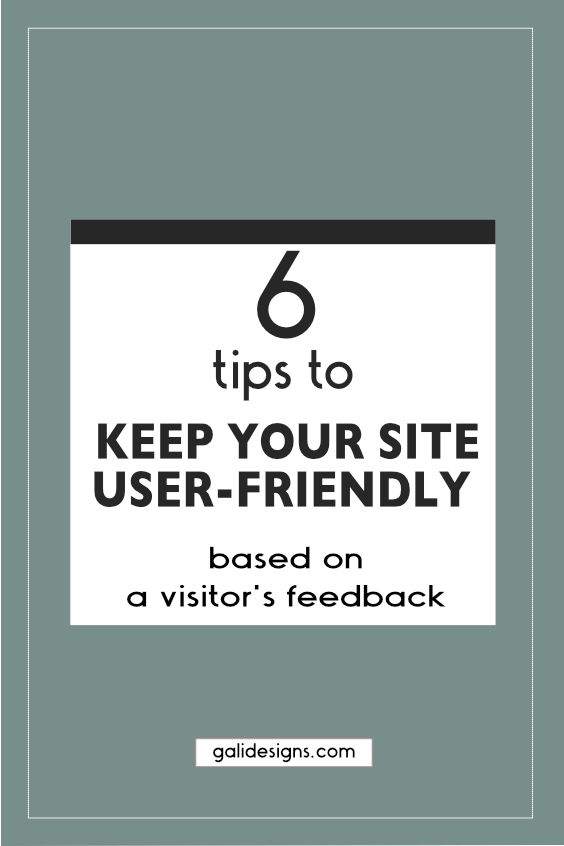 Here are 6 tips to make sure your visitors enjoy the experience and stay on your site longer