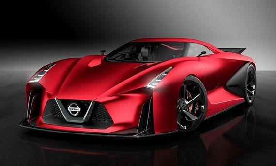 Концепт Nissan Concept 2020 Vision Gran Turismo / Ниссан Концепт 2020 Вижн Гран Туризмо