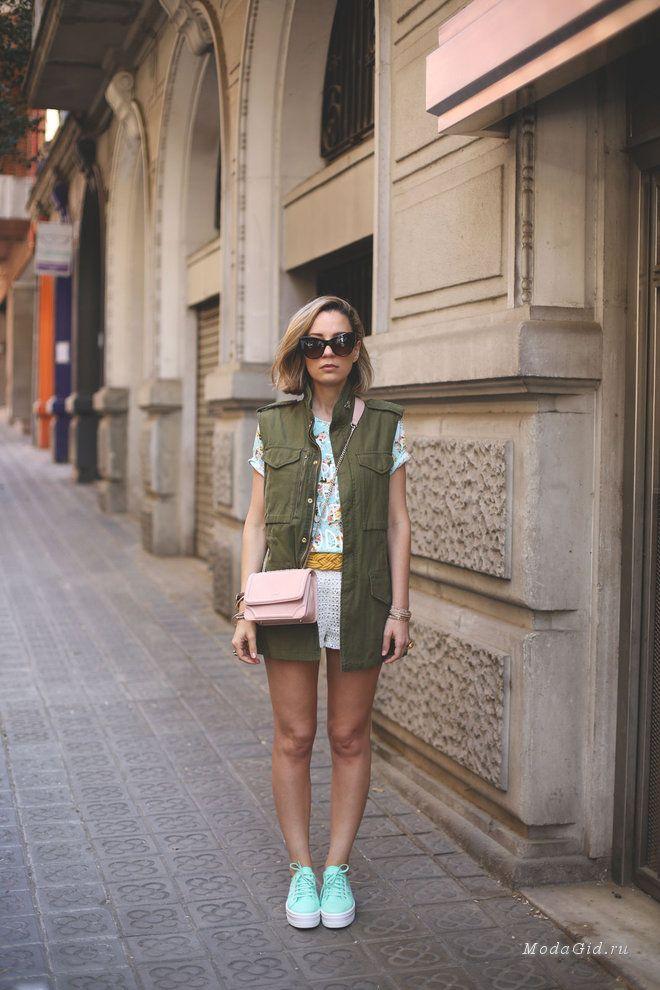 Уличная мода: Priscila Betancort – модный блоггер из Барселоны