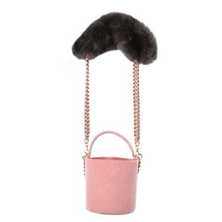 カラーポイントチェーンバケットバッグ   レディース・ガールズファッション通販サイト - STYLENANDA