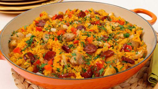 Chicken Chorizo Paella - Recipes - Best Recipes Ever - A recipe for