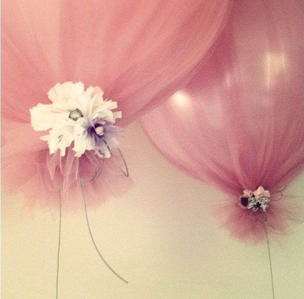 DIY tule ballonnen - Girls of honour