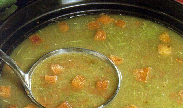 Σούπα 4 εποχών με κρουτόν