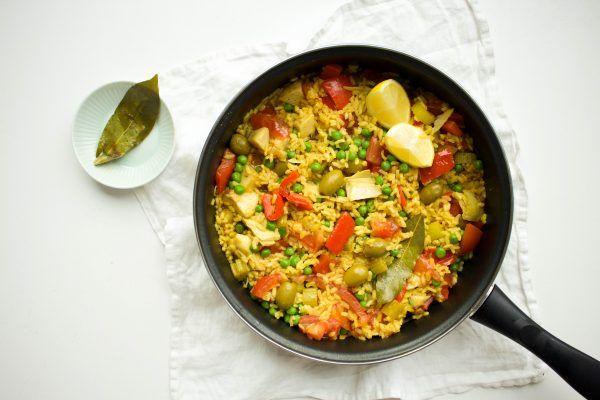 Vegetarische+paella